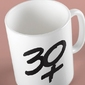 30 plus kubek biały universal