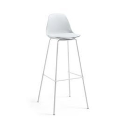 Hoker  krzesło barowe lysna szary