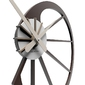 Zegar ścienny snail calleadesign czekoladowy 10-118-69