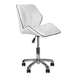Krzesło kosmetyczne 239a białe