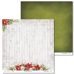 Papier świąteczny Winter song 30,5x30,5 cm - 02 - 02