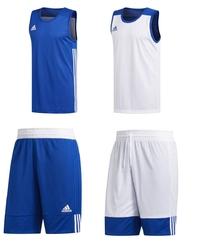 Zestaw dwustronny koszykarski adidas 3g speed - bluewhite