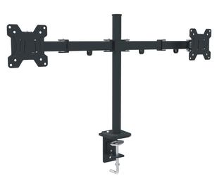 Uchwyt do dwóch tv monitorów na biurko 13-27 - szybka dostawa lub możliwość odbioru w 39 miastach