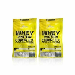 OLIMP Whey Protein Complex 100 - 2x 500g + 100g Free - Strawberry
