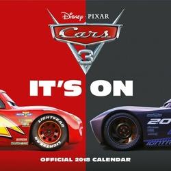 Cars 3 - kalendarz 2018
