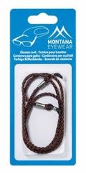 Brązowy sznureczek , zawieszka, łańcuszek do okularów bc3