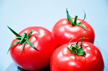 Fototapeta na ścianę trzy malinowe pomidory fp 984