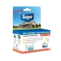 Tabletki biologiczne do szamba i oczyszczalni – 12 szt. target