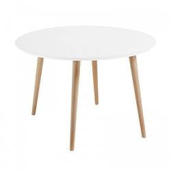 Nowoczesny okrągły stół 100cm modern biały