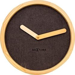 Zegar ścienny calm brązowy