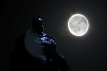 Batman w świetle księżyca - plakat wymiar do wyboru: 80x60 cm