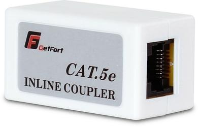 Łącznik rj45 getfort kat.5e beczka rj45-g  rj45-g - szybka dostawa lub możliwość odbioru w 39 miastach