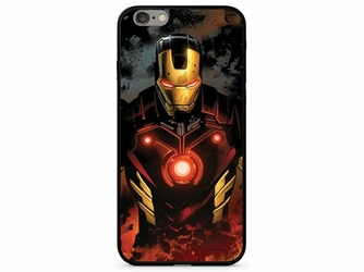Etui z nadrukiem Glass Marvel Iron Man 023 Apple iPhone 78 Plus