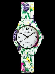 Damski zegarek PERFECT A676 - FLOWERS zp768a