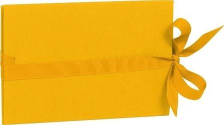 Album na zdjęcia uni leporello poziomy żółty
