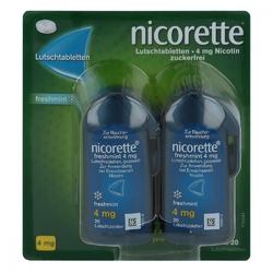 Nicorette freshmint 4 mg pastylki do ssania