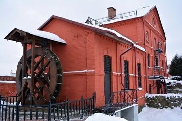 Fototapeta wielki murowany młyn fp 13