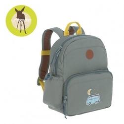 Lassig plecak z termoizolacyjną kieszenią i naklejkami adventure bus