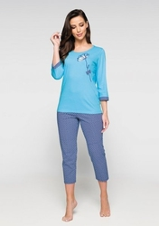 piżama damska regina 929 plus size
