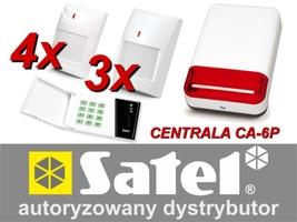Alarm satel ca-6 led, 4xaqua pet, 3xgrey plus, syg. zew. spl-2030 - możliwość montażu - zadzwoń: 34 333 57 04 - 37 sklepów w całej polsce