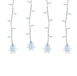 Sople wiszące led lampki kurtyna gwiazdki