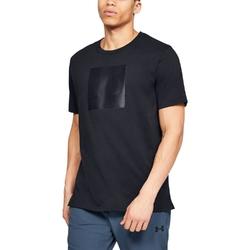 Koszulka męska under armour unstoppable knit tee - czarny