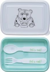 Lunchbox Lets Eat zielony
