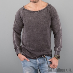 Bluza uc - burnout long grey