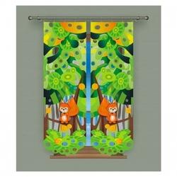 Panel wiewiórki 50 x 160 cm