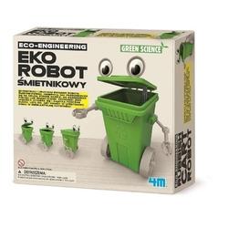 Eko robot śmietnikowy zestaw kreatywny