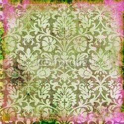 Plakat na papierze fotorealistycznym koronkowy retro tło