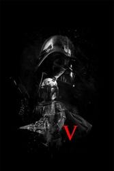 Star wars gwiezdne wojny epizod v - plakat premium wymiar do wyboru: 21x29,7 cm