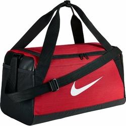 Torba sportowa Nike Brasilia Duffel Small na treing - BA5335-657 - University RedBlackWhite