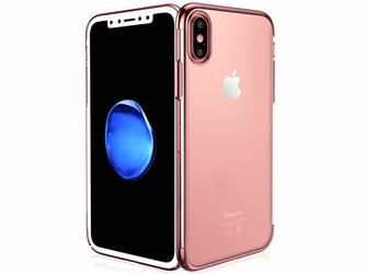 Etui Alogy Liquid Armor Apple iPhone XXs Różowe - Różowy