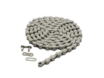 Łańcuch 1-rzędowy lynx 12 x 18 112 ogniw 8.6 mm srebrny single speed