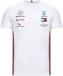 Koszulka mercedes amg petronas f1 2020 biała - biały