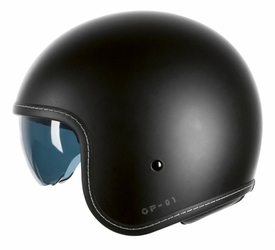 KASK OZONE OPEN FACE OP-01 BLACK MATT