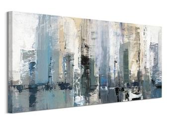 Winter metropolis - obraz na płótnie