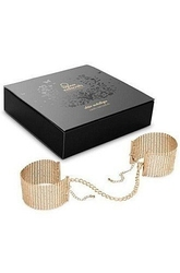 Bijoux indiscrets désir métallique cuffs gold złote kajdanki