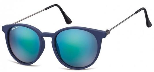 Okulary montana ms33a przeciwsłoneczne granatowe lustrzanki