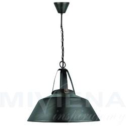 Vibe lampa wisząca 1 metal czarna