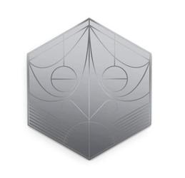 Petite Friture :: Lustro Mask Hexagon - hexagon