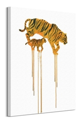 Tigers - obraz na płótnie