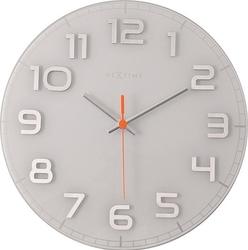 Zegar ścienny classy round biały