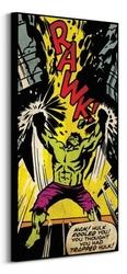 Hulk rawk - obraz na płótnie