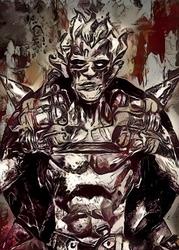 Legends of bedlam - junkrat, overwatch - plakat wymiar do wyboru: 29,7x42 cm