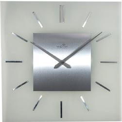 Zegar ścienny sterowany radiowo Stripe Nextime 40 x 40 cm 3148