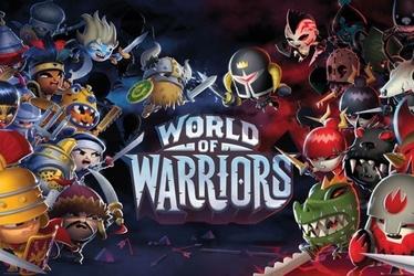 World of warriors postacie - plakat
