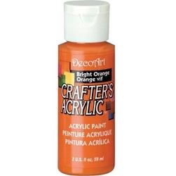 Farba akrylowa Crafters Acrylic 59 ml- pomarańczowy jasny - POMJAS