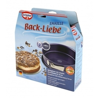 Dr.oetker tortownica 26x8 cm back-liebe emaille